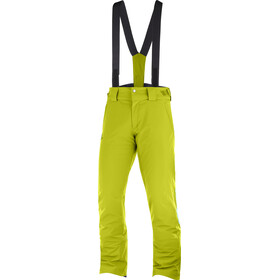 Salomon Stormseason Pantalon Homme, citronell